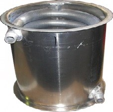 Kesselkörper mit Rippenrohr-Wärmetauscher Ratio Plus
